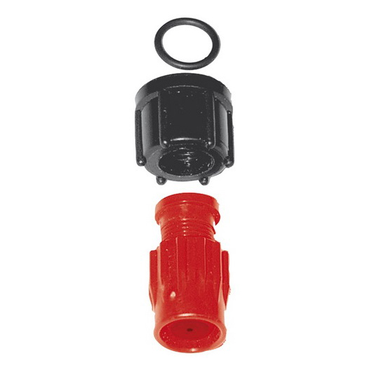 Adjustable High Pressure Nozzle, Plastic